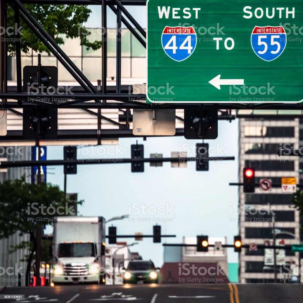 Auf der Straße in St. Louis, Missouri – Foto