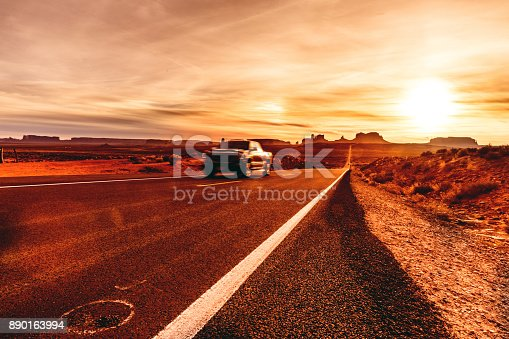 istock On the road Monument Valley in Western United States 890163994