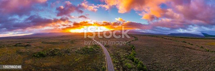 Mt. Ruapehu, national park Tongariro. New Zealand.