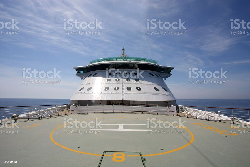 On the sea royalty-free stock photo