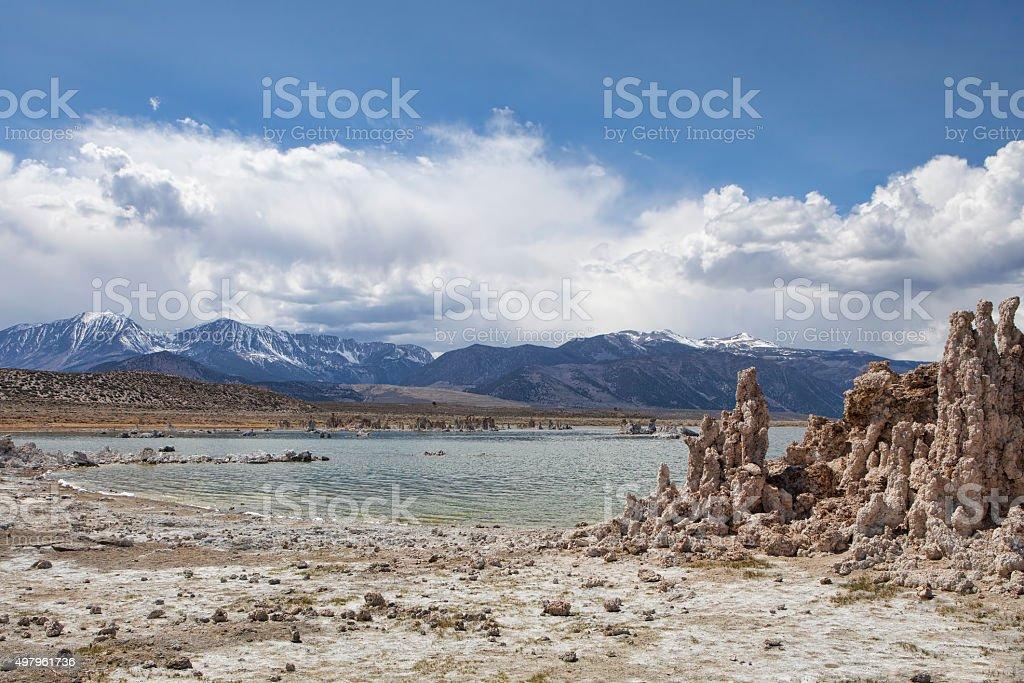 On the Shore of Mono Lake stock photo