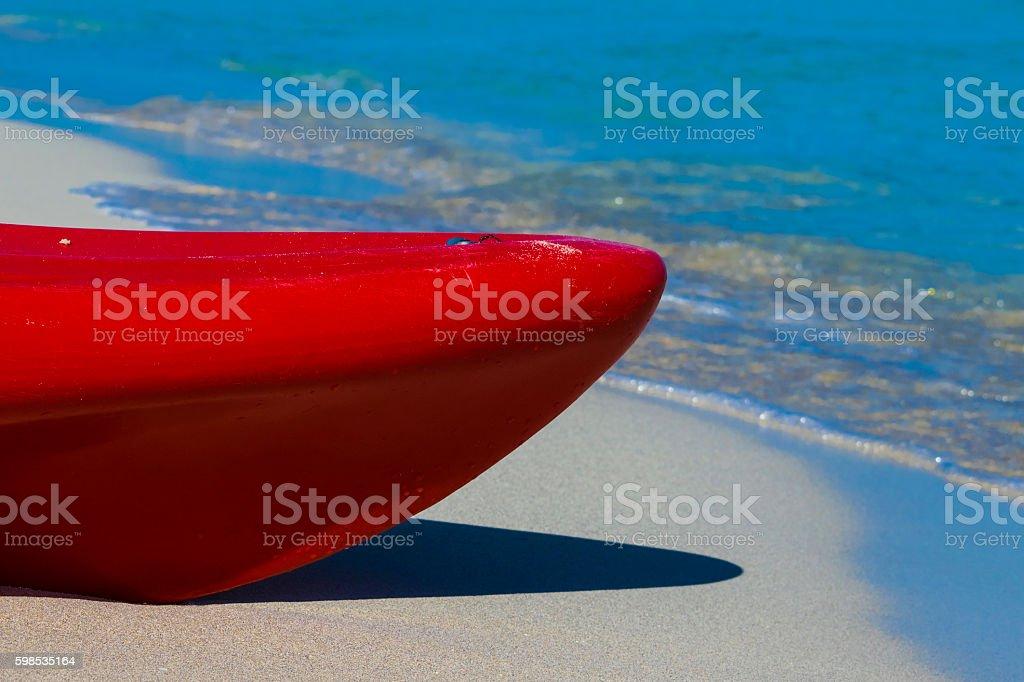 On the shore, photo libre de droits