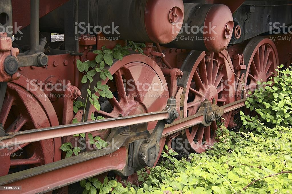 On the siding royalty-free stock photo