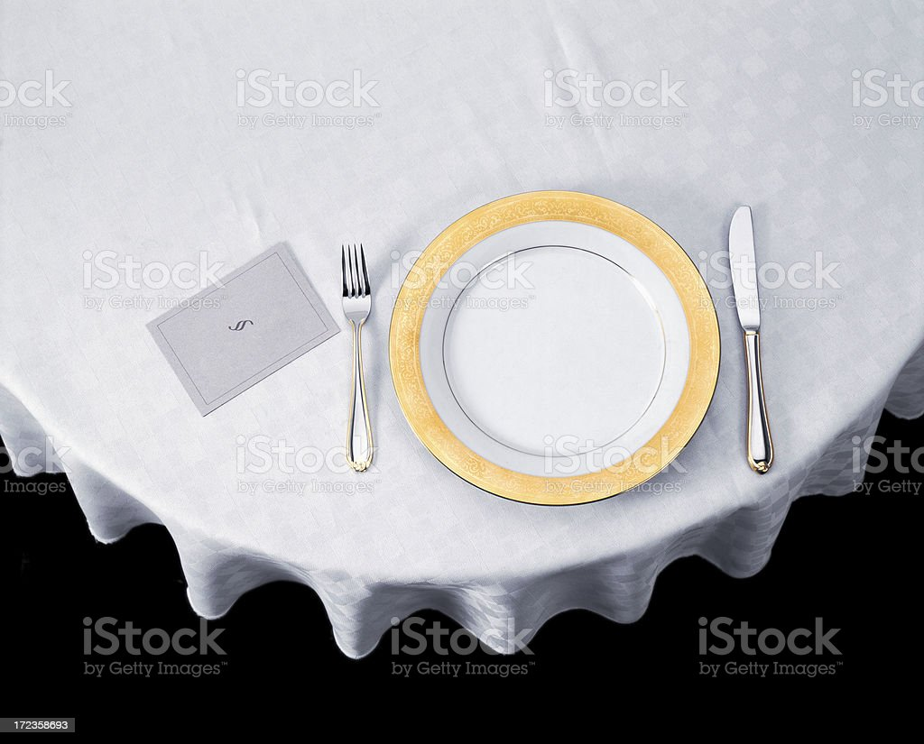 On the table stock photo