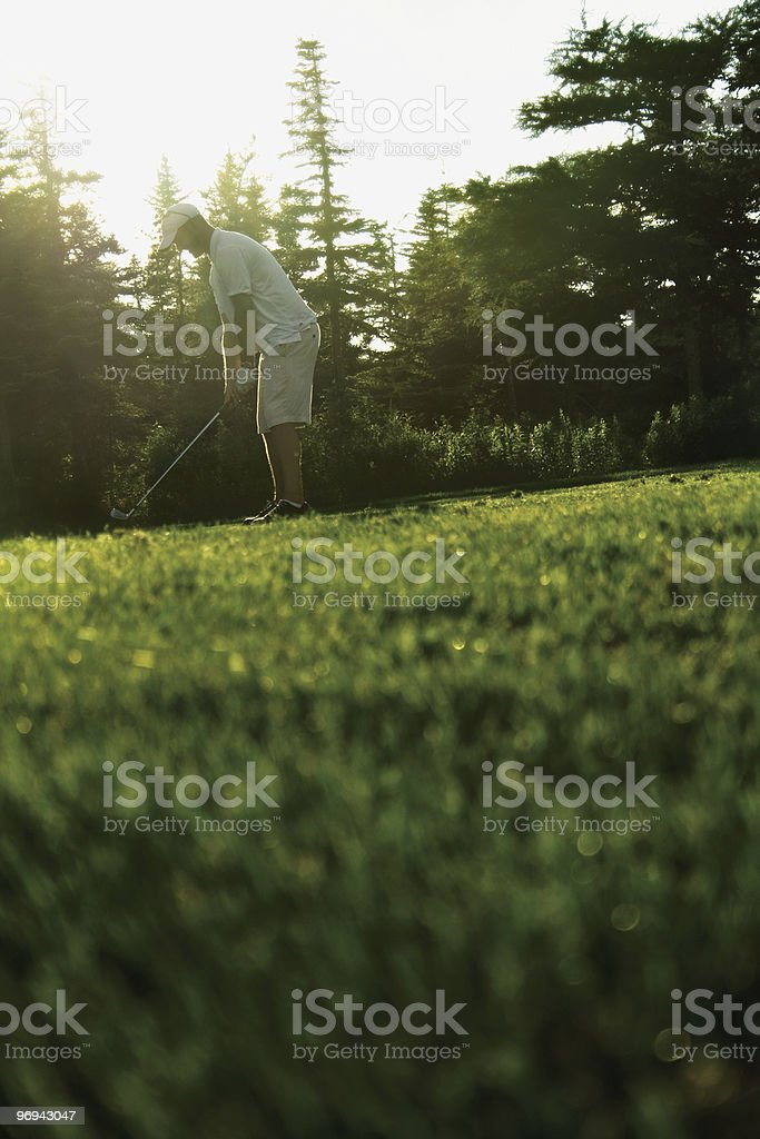 On the Tee royalty-free stock photo