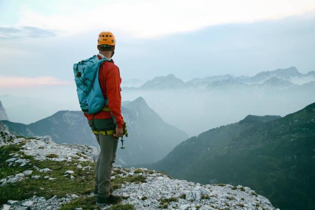 Auf dem Gipfel des Berges – Foto