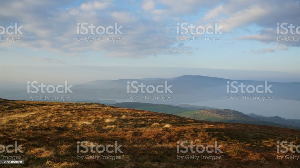 On the top of Tountinna 1 royalty-free stock photo