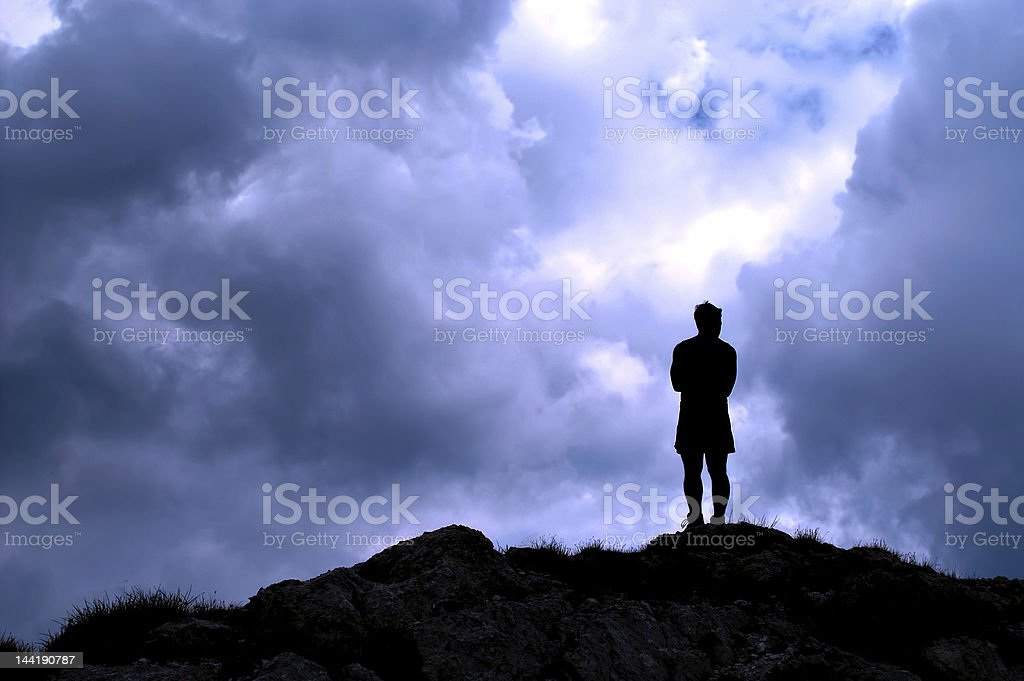 On the top royalty-free stock photo