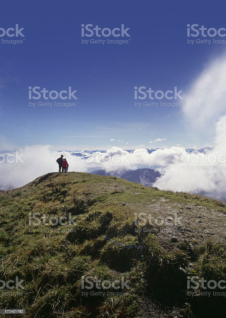 On the top (image size XXL) royalty-free stock photo