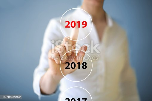 1063751940 istock photo 2019 on the touch screen 1078495502