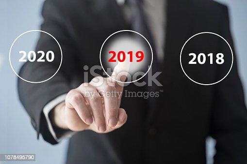 1063751940 istock photo 2019 on the touch screen 1078495790