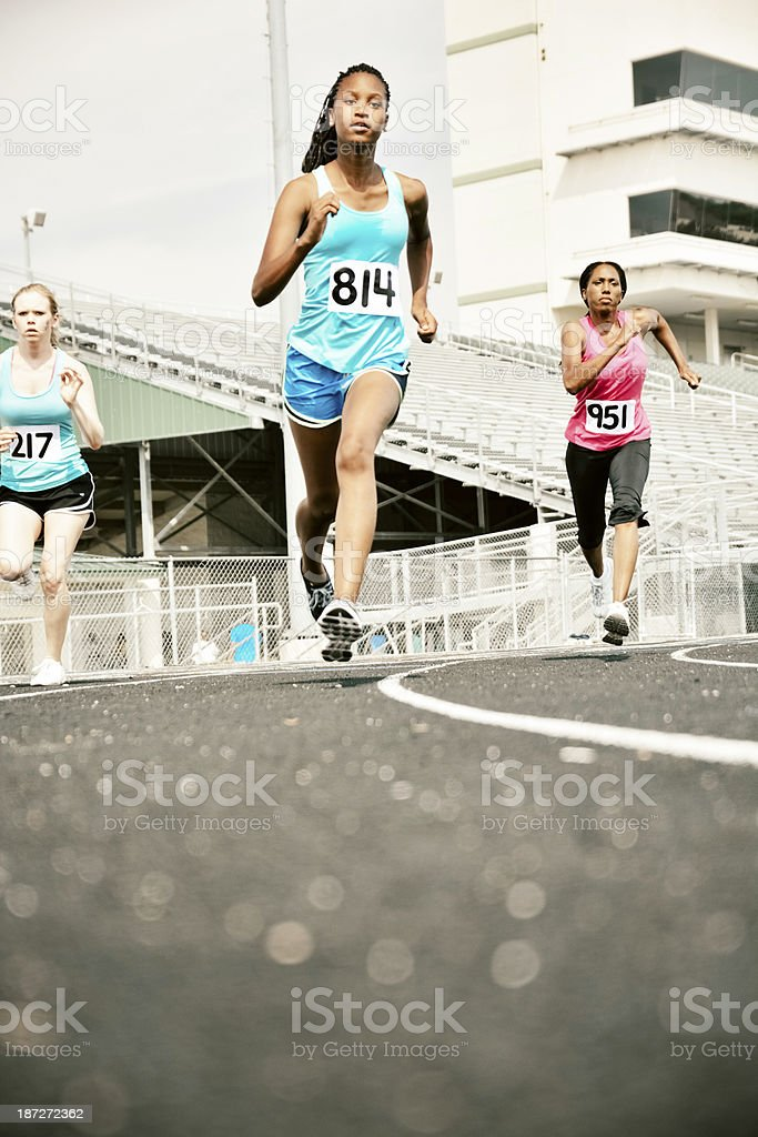 On the track. royalty-free stock photo
