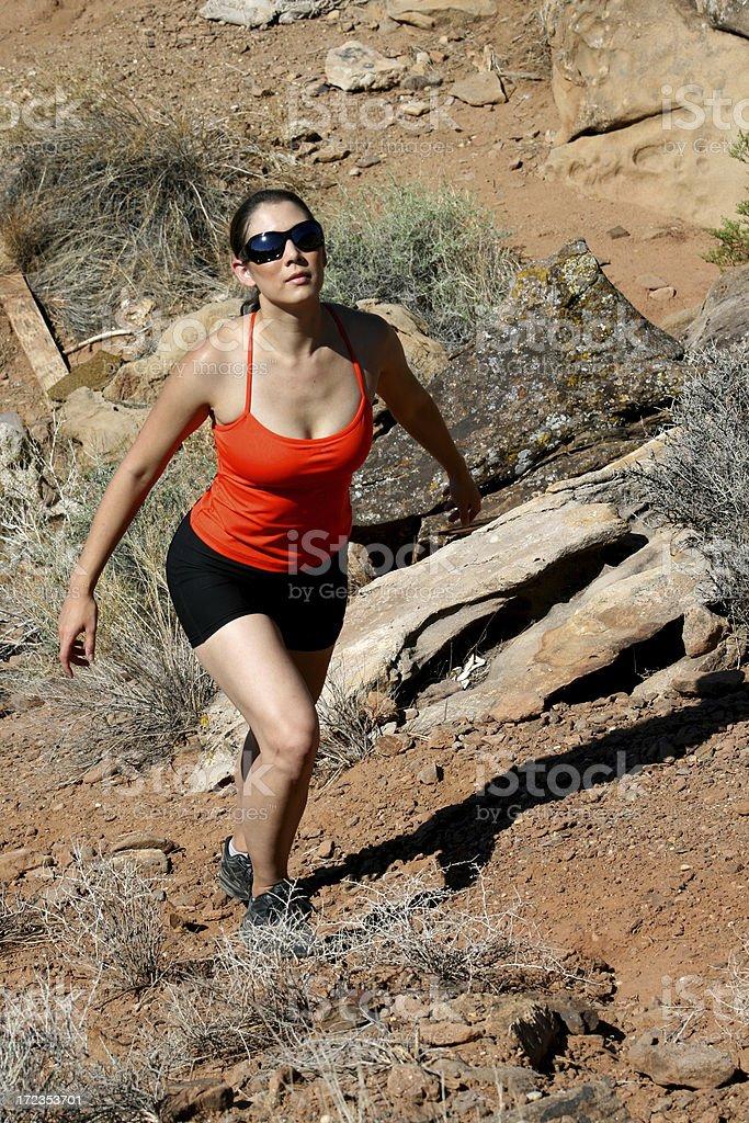On the Trail (Utah RedRockalypse) royalty-free stock photo