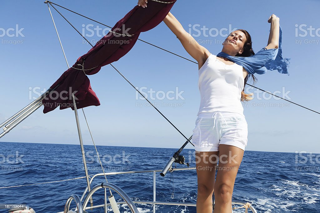 On the vacation royalty-free stock photo