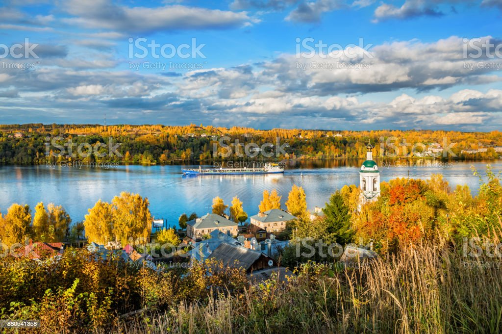 On The Volga River Stock Photo IStock - The volga river