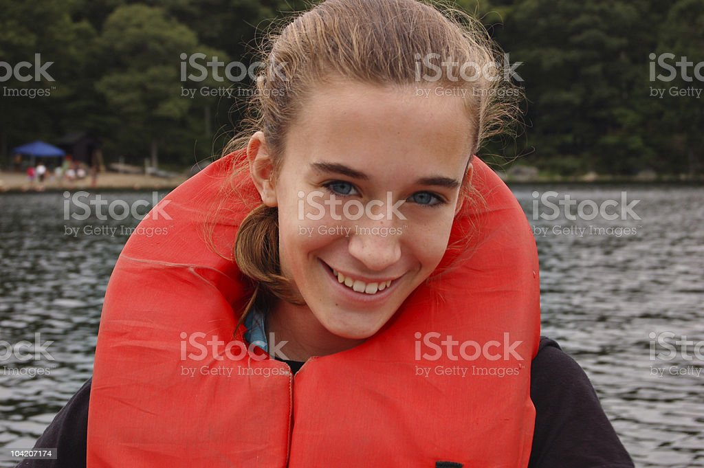 On the water royalty-free stock photo