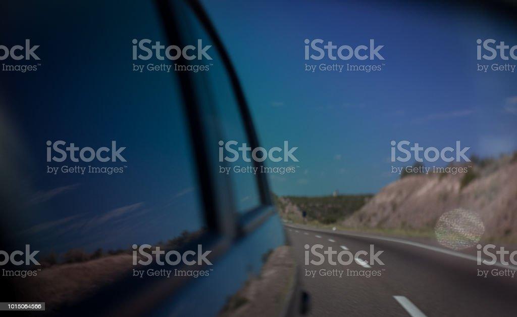 En ruta - foto de stock