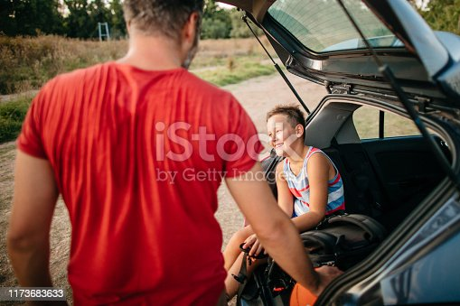 istock On the way to basketball game 1173683633