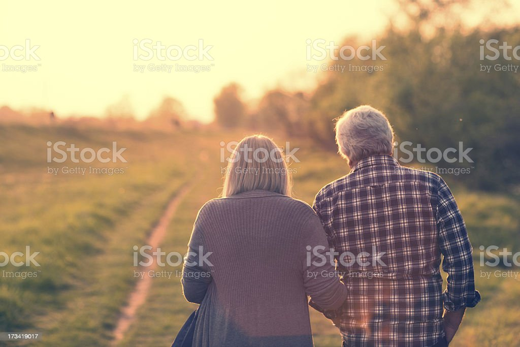 On their life journey royalty-free stock photo
