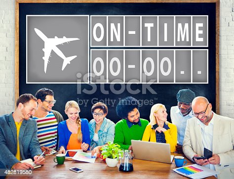 istock On Time Punctual Efficiency Organization Management Concept 482819580
