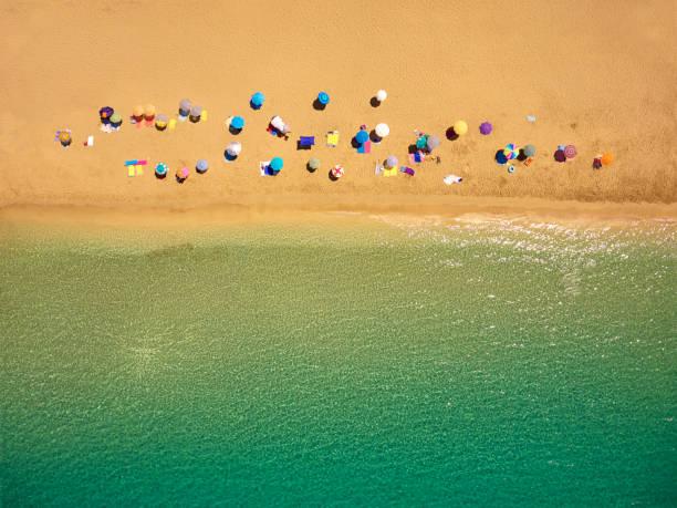 Oben auf dem Strand – Foto