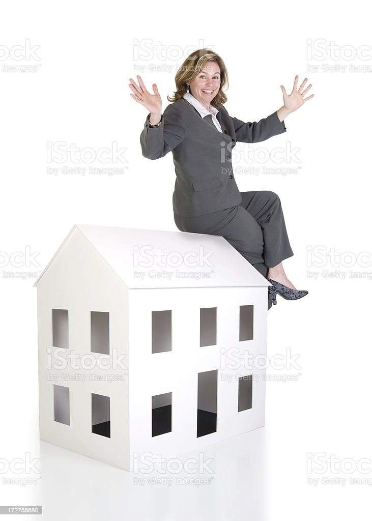 On Top of the Housing Market royalty-free stock photo