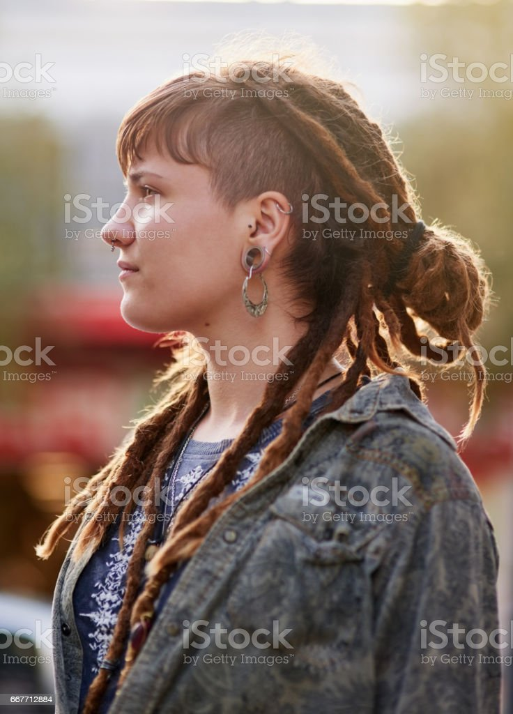 On top of the latest trends stock photo