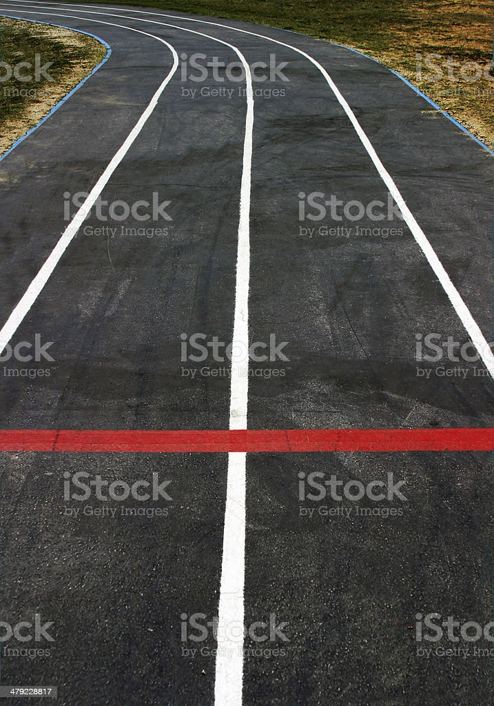 On Track royalty-free stock photo