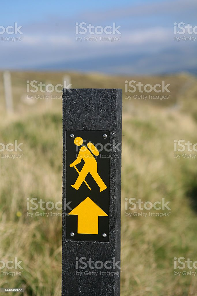 On Trail royalty-free stock photo