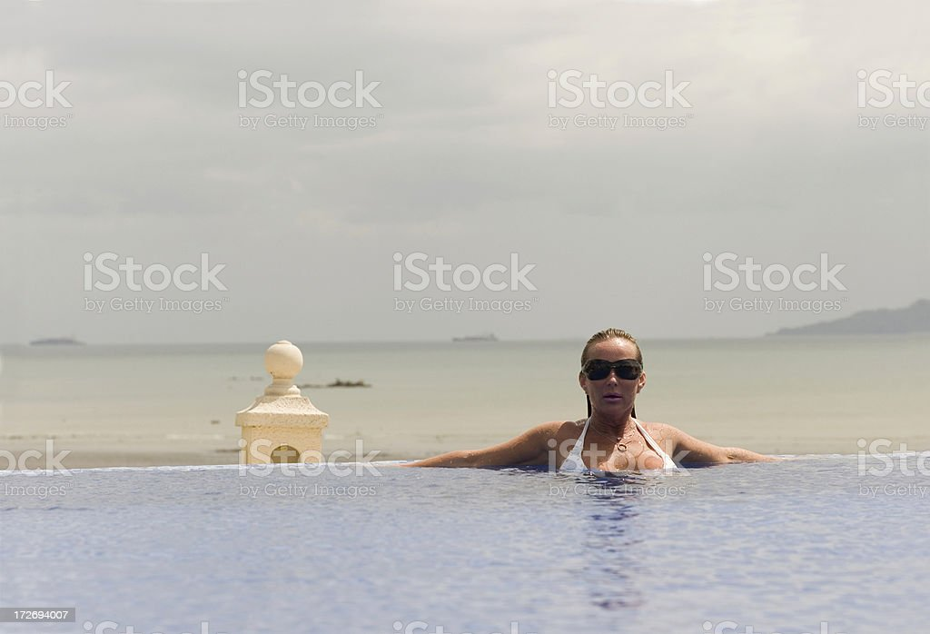 On Vacation royalty-free stock photo