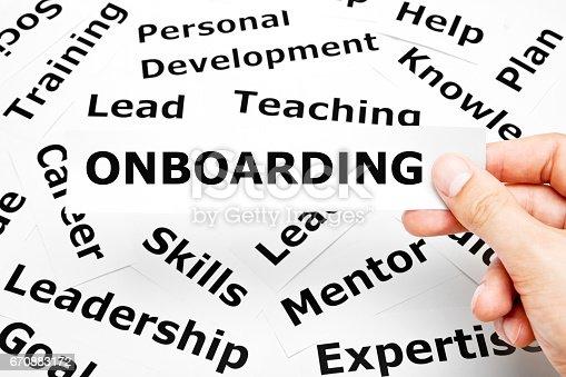 istock Onboarding Paper Words Concept 670883172