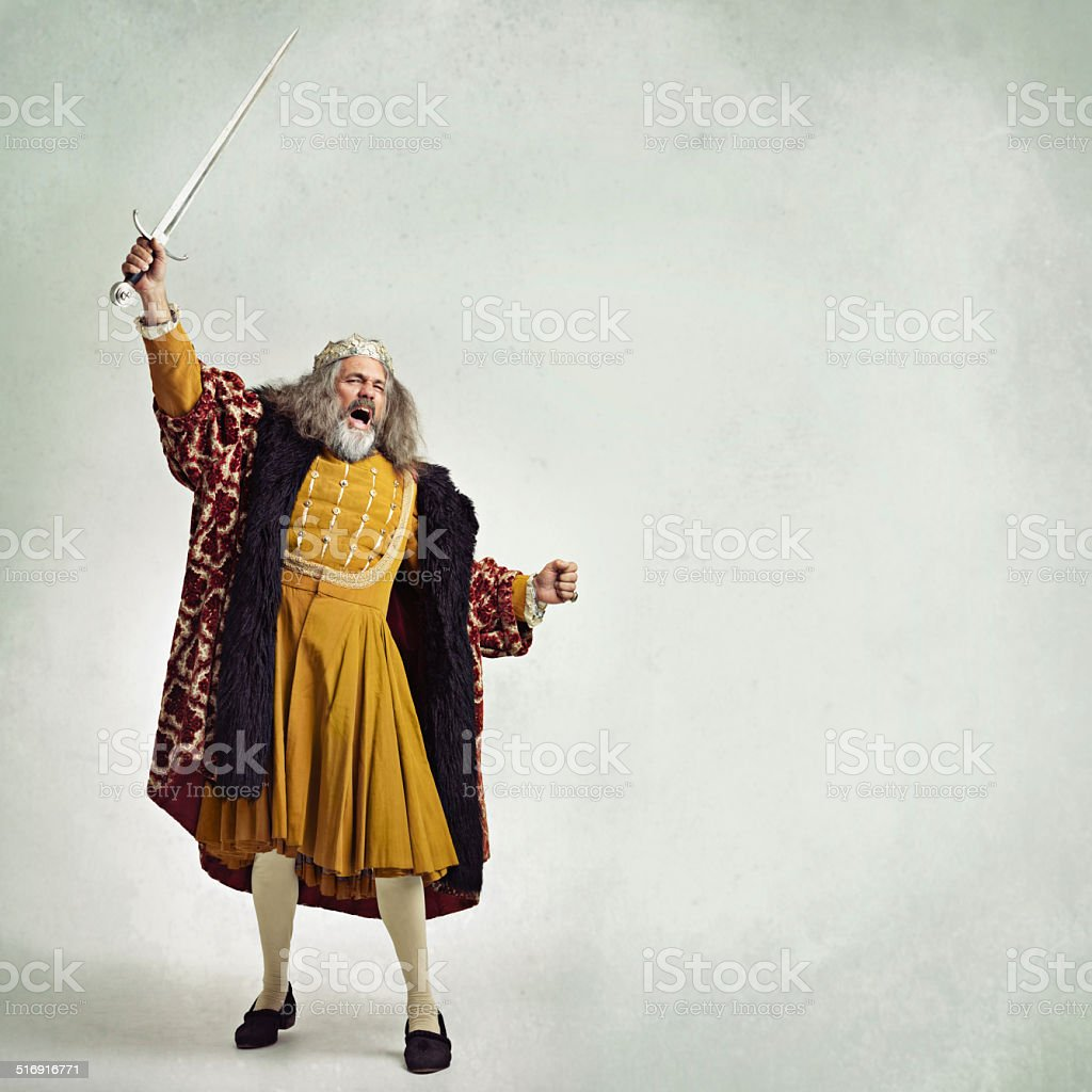Once more into the breach! stock photo