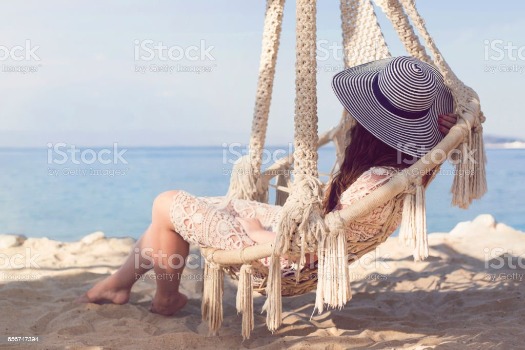 Once Upon A Summer stock photo