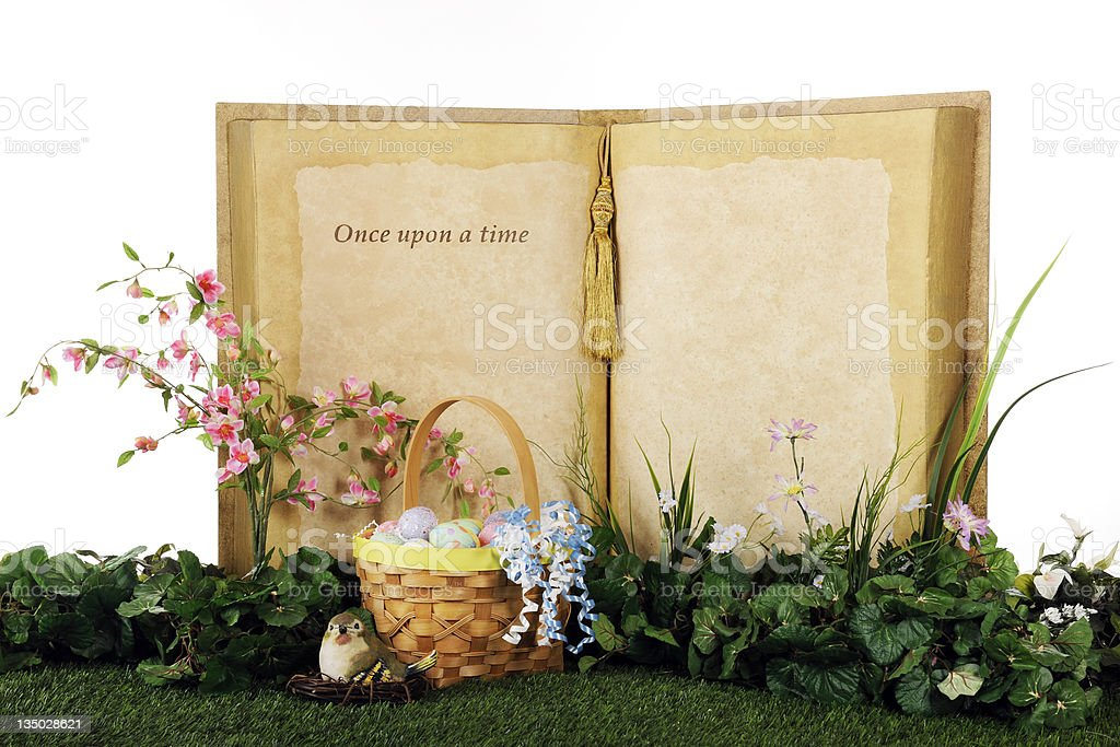 Once Upon an Easter Time royalty-free stock photo