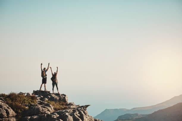 Sobald Sie einen Berg erobert haben, können Sie sie alle erobern – Foto