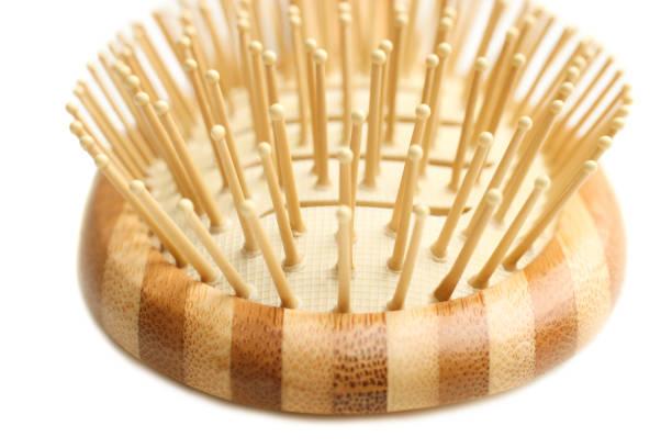 Cтоковое фото One bamboo comb