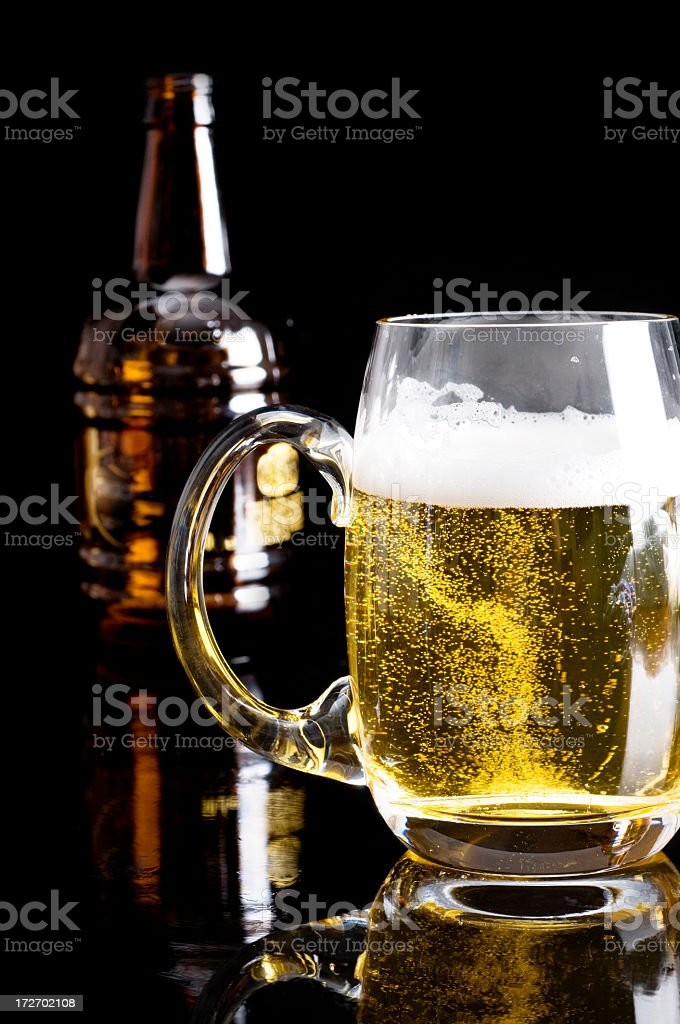 one beer please, royalty-free stock photo