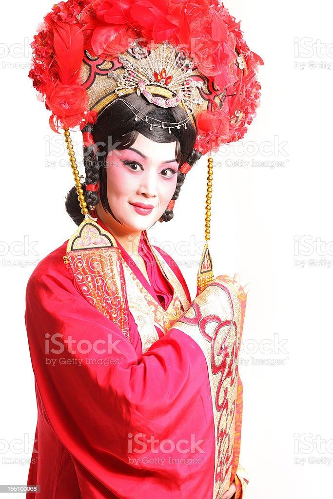 one Beijing opera actor royalty-free stock photo