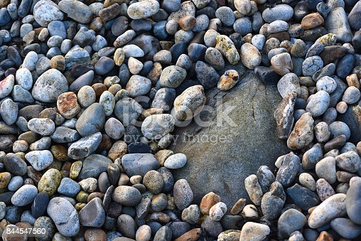 istock One Big Rock Surrounded by Many Little Rocks 844547560