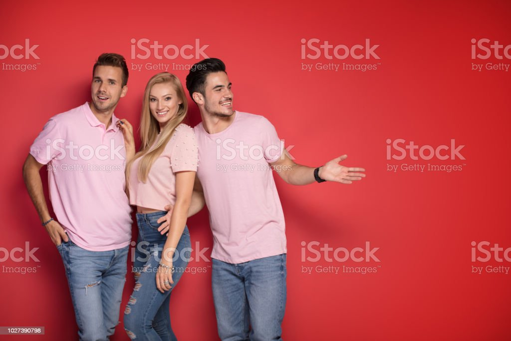 Two guys one girl pictures
