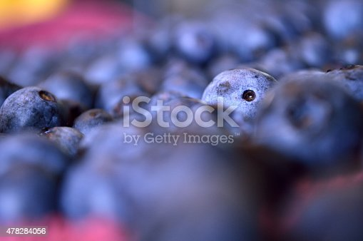 istock One blueberry poking head up in sea of blueberry sameness 478284056
