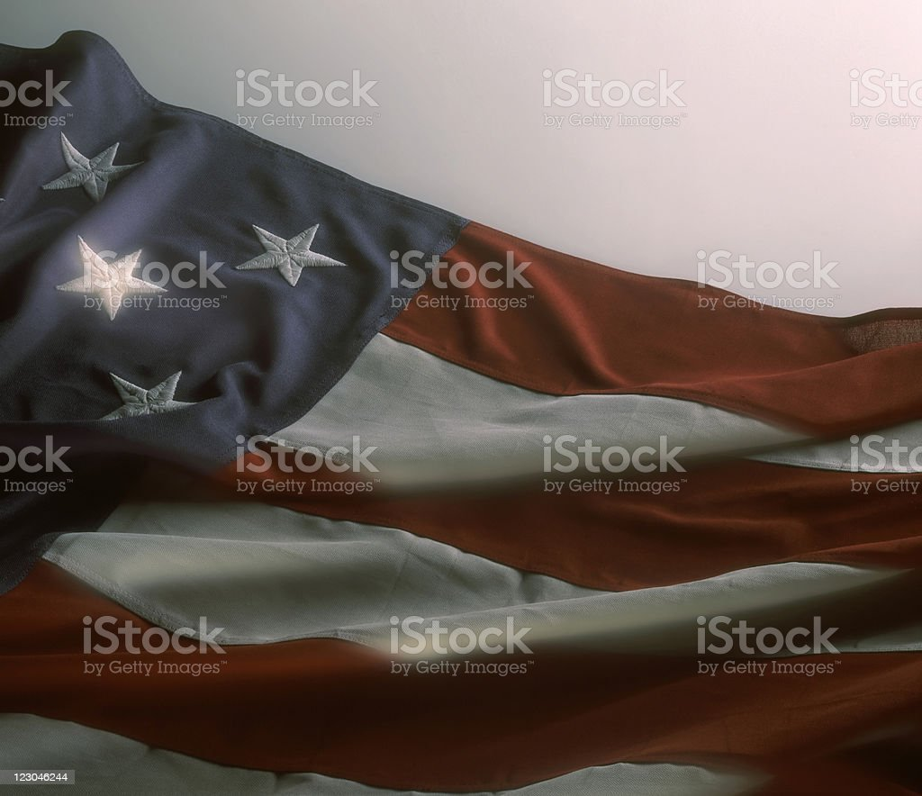 One Bright and Shining Star royalty-free stock photo