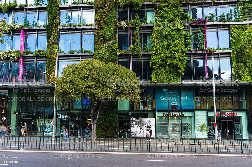 One Central Building shopping centre facade stock photo