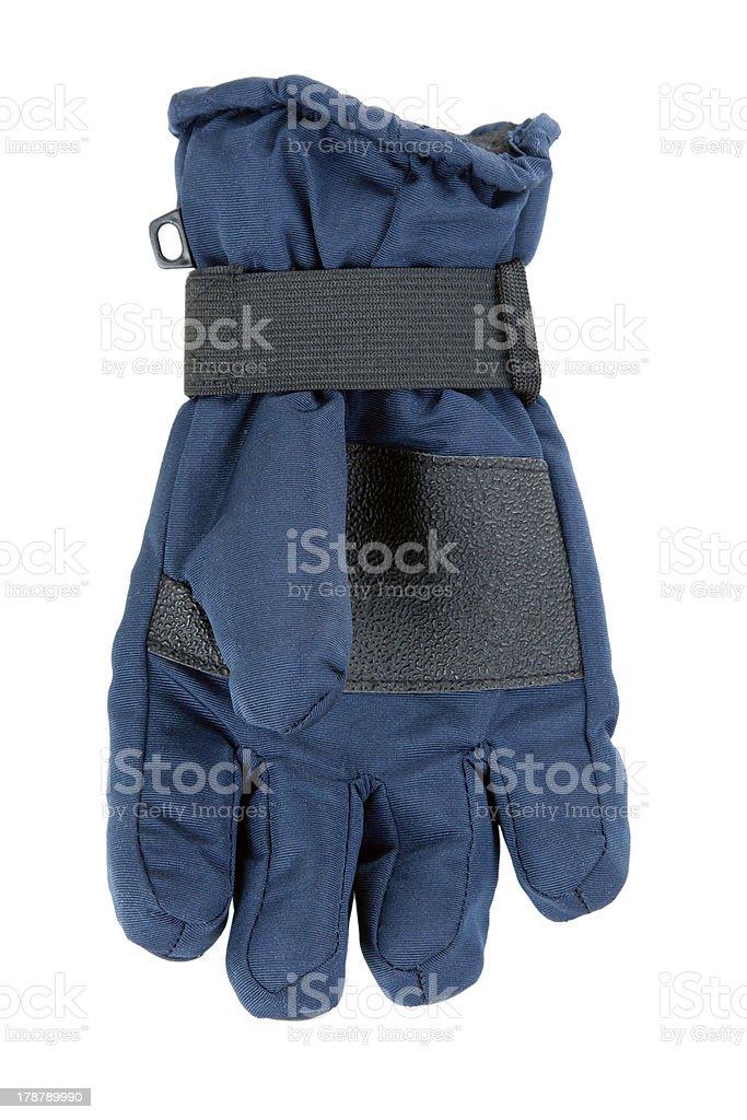 One child warm glove royalty-free stock photo