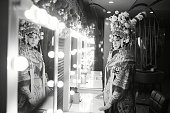 istock One Chinese opera actress in make 1225743451