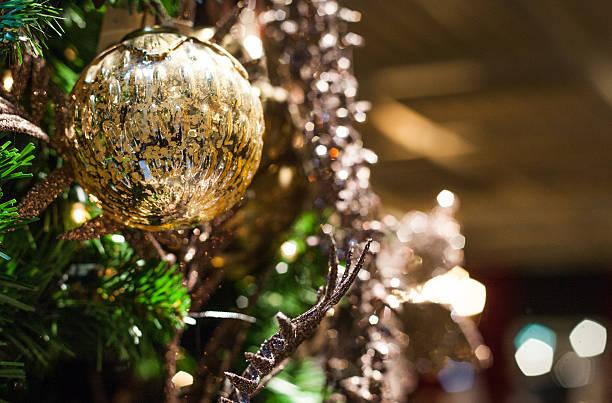 one christmas ball stock photo