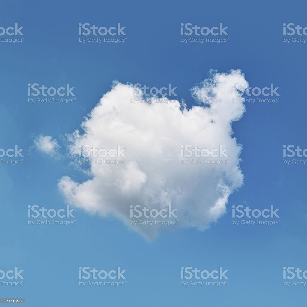 one cloud stock photo