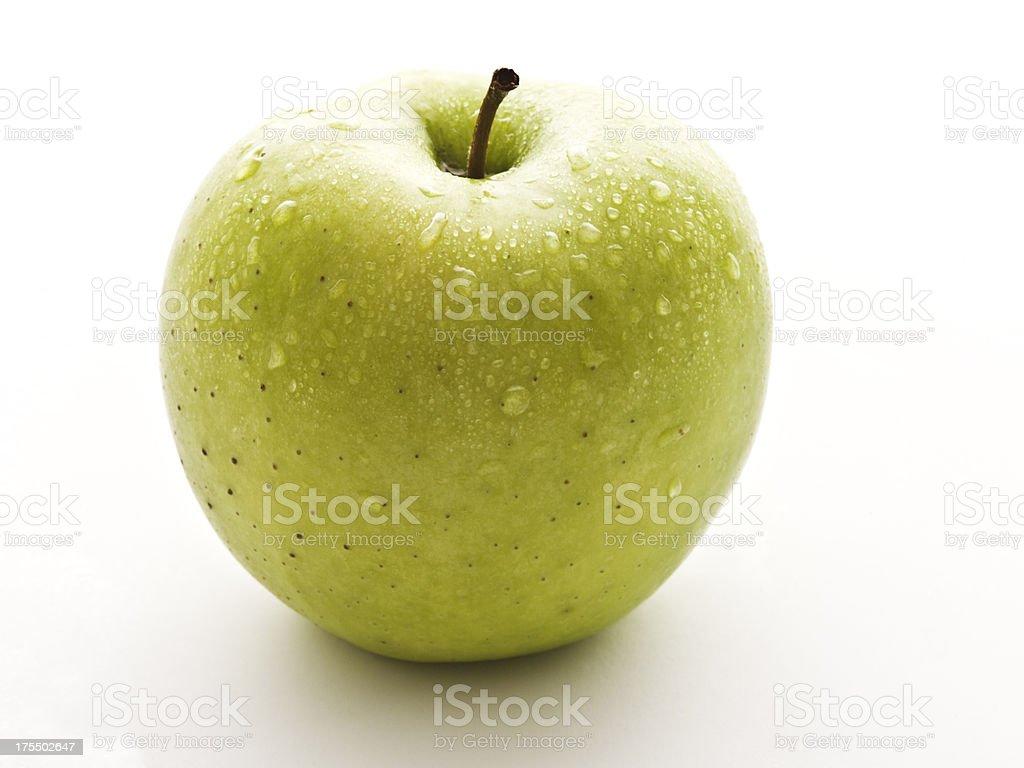 one crispin apple stock photo