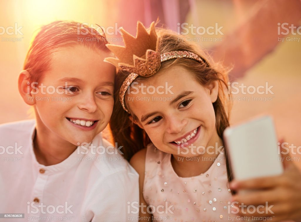 One day we will look back at these pictures stock photo