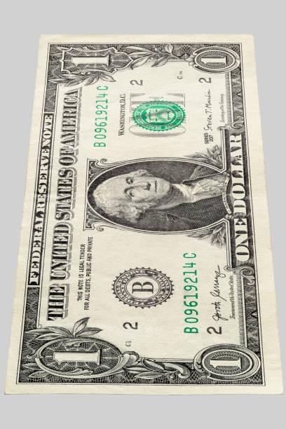 one dollar bill photo stock photo
